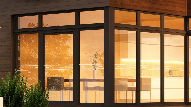 Pearl single glazed vertical window