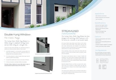 Classic Double Hung Window Brochure