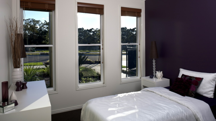 classic double-hung windows