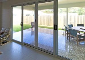 Invisi Gard hinged/sliding security doors